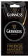 Guinness Bottle Cap shaped fridge magnet / bottle opener (sg)